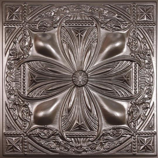 Avalon tin ceiling tiles for Faux plafond a coller